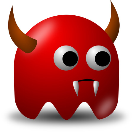 174-Devil-Avatar-Character-With-Horns-And-Fangs-Free-Vector-Clipart-Illustration